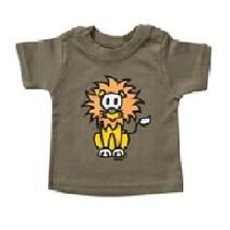 Groen baby T-Shirt Leo