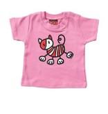 Mick & Malu Roze babyShirt Pip poes van Mick&Malu