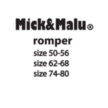 Mick & Malu Limegroene romper Clara van Mick&Malu 74/80