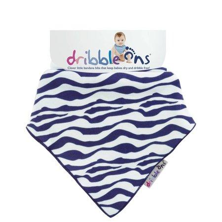 Sockons/ Dribbleons Dribble Ons Zebra Stripes