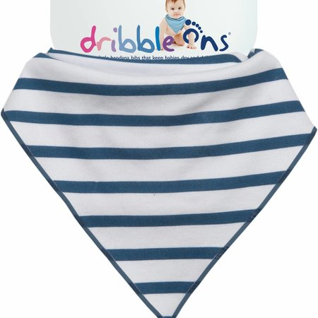 Sockons/ Dribbleons Dribble Ons Nautical Stripe