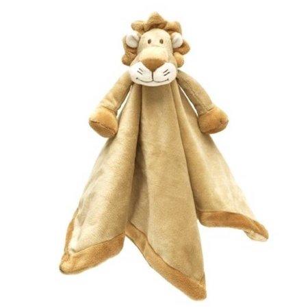 Teddykompaniet Diinglisar Knuffeldoekje Leeuw