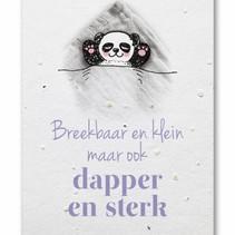 Groeikaart Panda Dapper