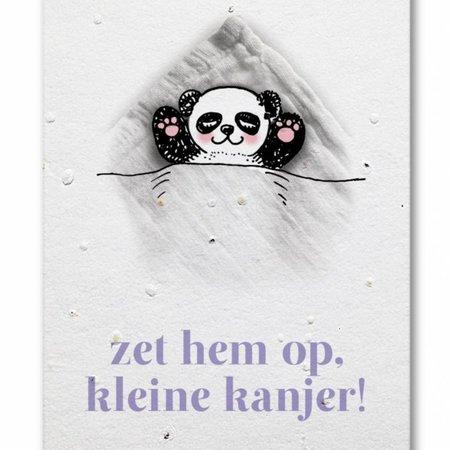 Bonte Raaf Groeikaart Panda Kanjer