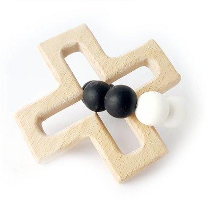 Chewies & more Play Cross Chewie Wit/Zwart