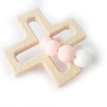 Play Cross Chewie Wit/ zacht roze