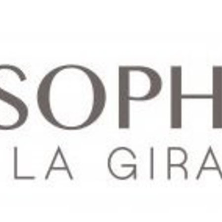 Sophie de Giraf Knuffeldoek met speenkoord