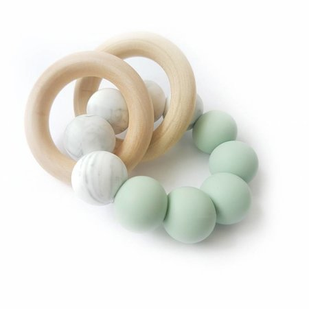 Chewies & more Chewie Basic Rattle Marble / Early Sea