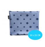 Kleine Lucas Couveuse doek blauw met sterren