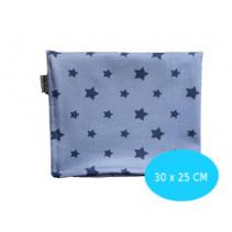 Couveusedoek blauw met sterren