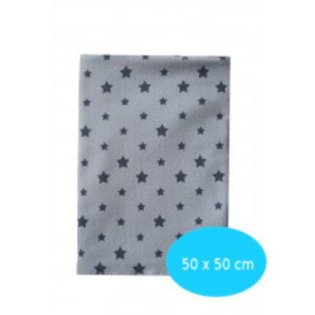 Kleine Lucas Couveuse doek blauw met sterren maxi