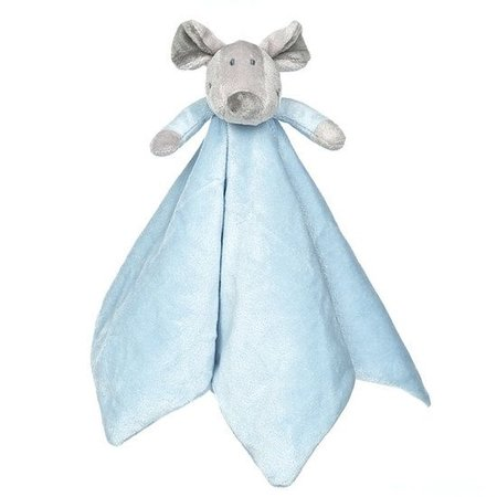 Teddykompaniet Diinglisar Floppy knuffeldoekje blauw Teddykompaniet