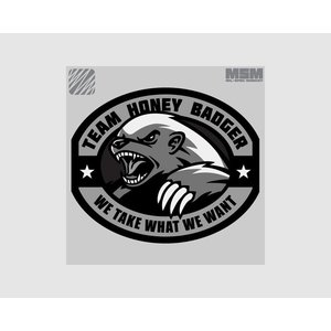 MilSpec Monkey Honey Badger patch