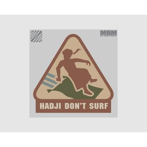 MilSpec Monkey Hadji Don't Surf patch