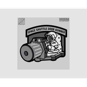 MilSpec Monkey Shuttle DoorGunner patch