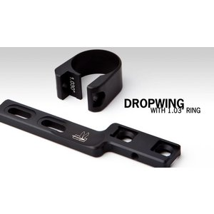Haley Strategic Dropwing Flashlight Mount