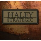 Haley Strategic Brand PVC Patch