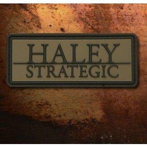 Haley Strategic Brand PVC Patch