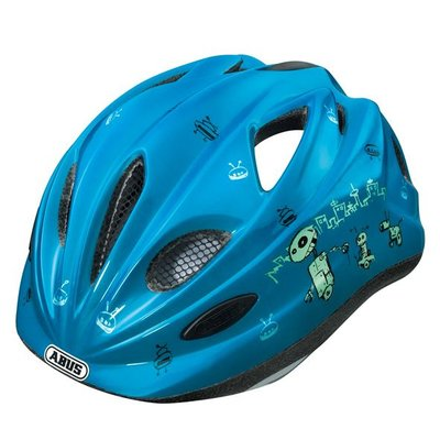 Abus fietshelm 'Chilly' - Robot Blue - S (46-52 cm)