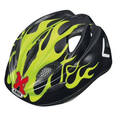 Abus fietshelm 'Super Chilly' - X-flame Yellow - S (46-52 cm)