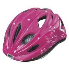 Abus fietshelm 'Super Chilly' - Garden pink - S (46-52 cm)