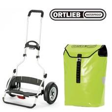 Andersen royal shopper plus Ortlieb - Groen