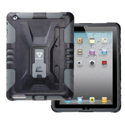 Armor-x case-x Hardcase hoes - iPad - Zwart/grijs