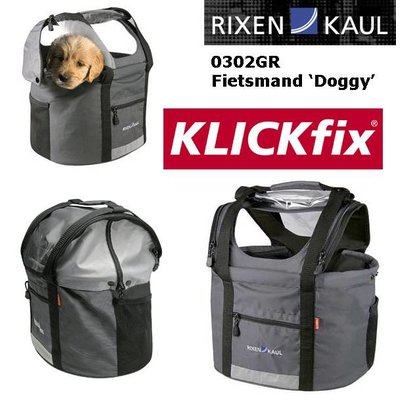 Rixen & Kaul Hondenstuurtas KLICKfix Doggy