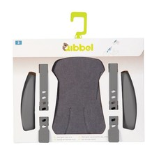 Qibbel Stylingset Luxe canvas Grey voorzitje