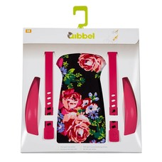 Qibbel Stylingset Luxe blossom Roses Black achterzitje