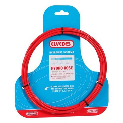 Elvedes Hydro hose  Rood