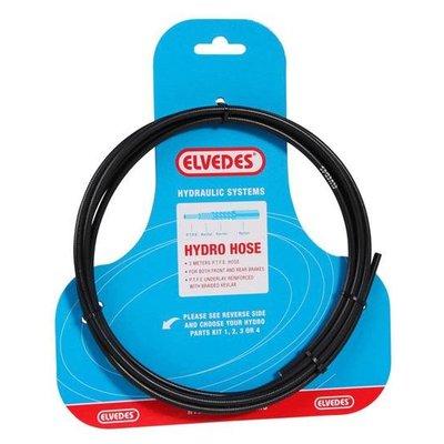 Elvedes Hydro hose  Zwart