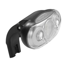 Axa koplamp 'Scope' - 2x witte LED - Black