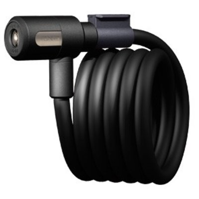 Axa kabelslot 'Newton 120/15' - 120 cm, 15 mm - Black
