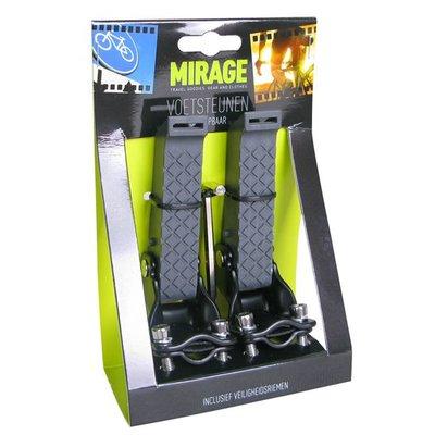 Mirage opklapbare voetsteunen