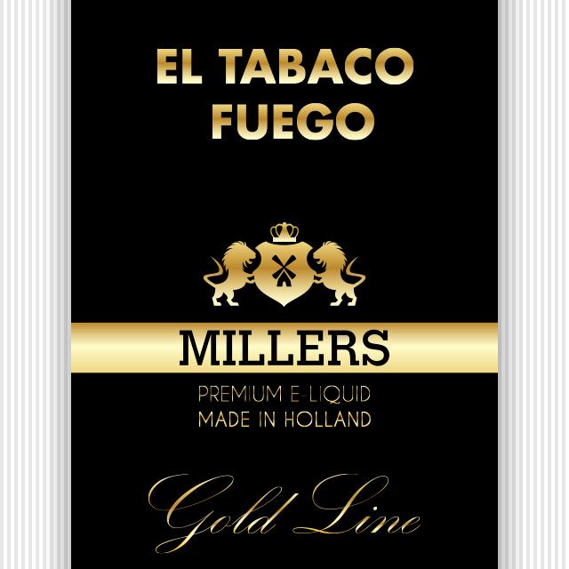 Goldline Millers liquid El Tabaco Fuego