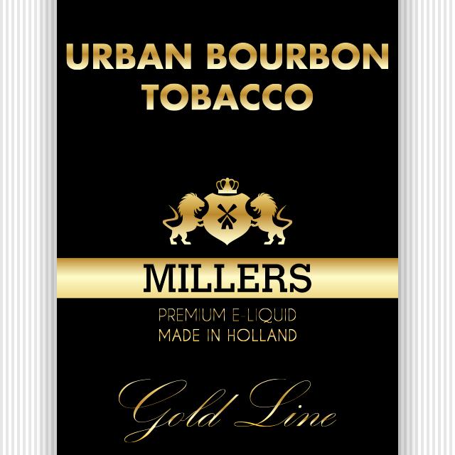 Millers goldline urban Bourbon Tobacco
