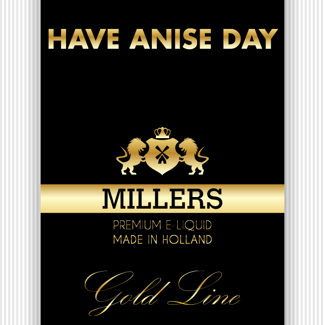Goldline Millers liquid Have a nice day