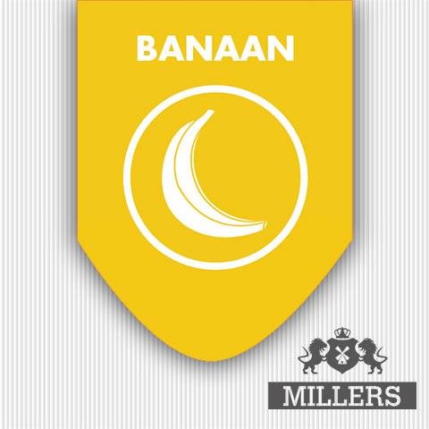 Millers Silverline liquid banaan