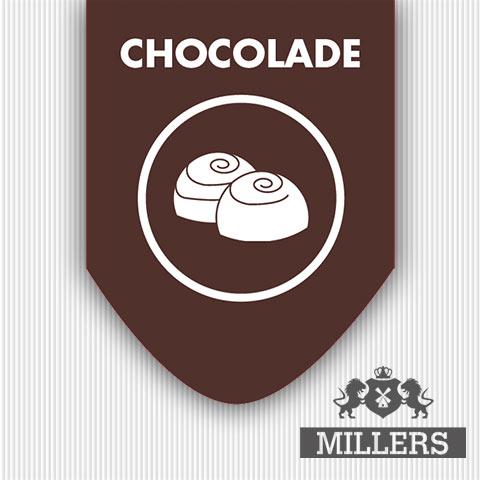 Millers Juice Silverline Chocolade
