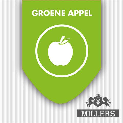 Groene appel liquid silverline Millers Juice