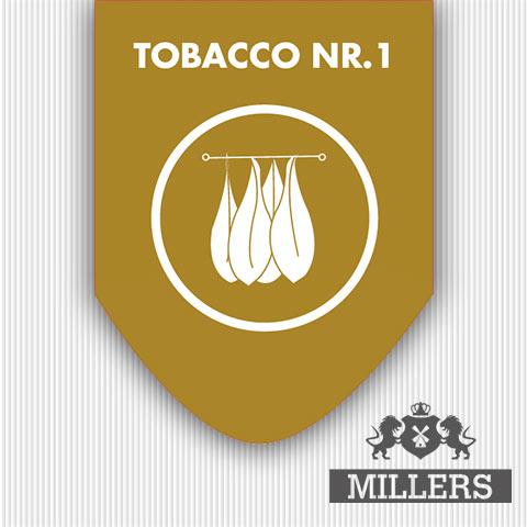 silverline Millers Juice liquid Tobacco nr1