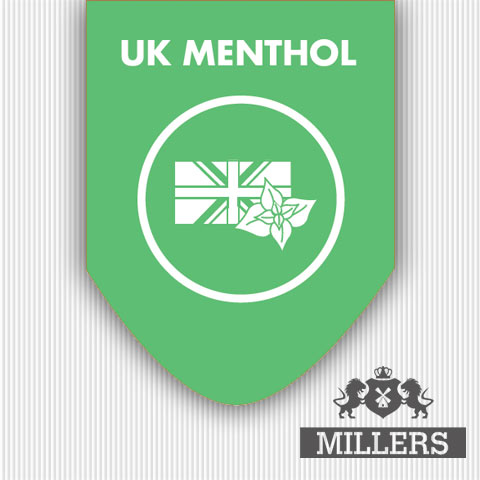 Silverline Millers juice liquid UK menthol