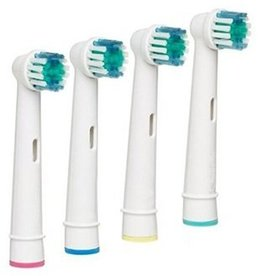 4 Opzetborstels voor Oral-B® van Braun® elektrische tandenborstels