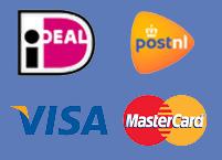 Visa Mastercard PostNL iDeal