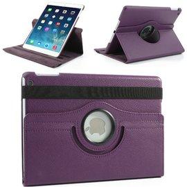 Merkloos Apple iPad Air 360 Graden Case Paars