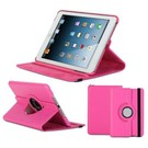 Apple iPad Mini / Mini 2 Case, 360 graden draaibare Hoes, Cover met Multi-stand Kleur Roze / Pink