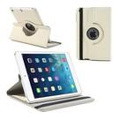 Apple iPad Mini / Mini 2 Case, 360 graden draaibare Hoes, Cover met Multi-stand Wit