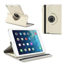 Ntech iPad Mini / Mini 2 Case 360 Graden Draaibare Hoes Cover met Multi-Stand Wit