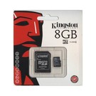 Kingston Kingston MICRO SD 8GB OEM met SD ADAPTER